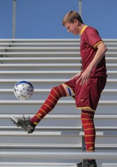 While anchoring the defense, Dylan Studer also scored 10 goals and had five assists for Simi Valley.