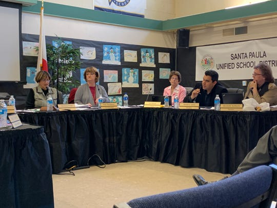 Santa Paula Unified trustees discuss options for child care of the infants of teen parents enrolled at Santa Paula or Renaissance high schools.