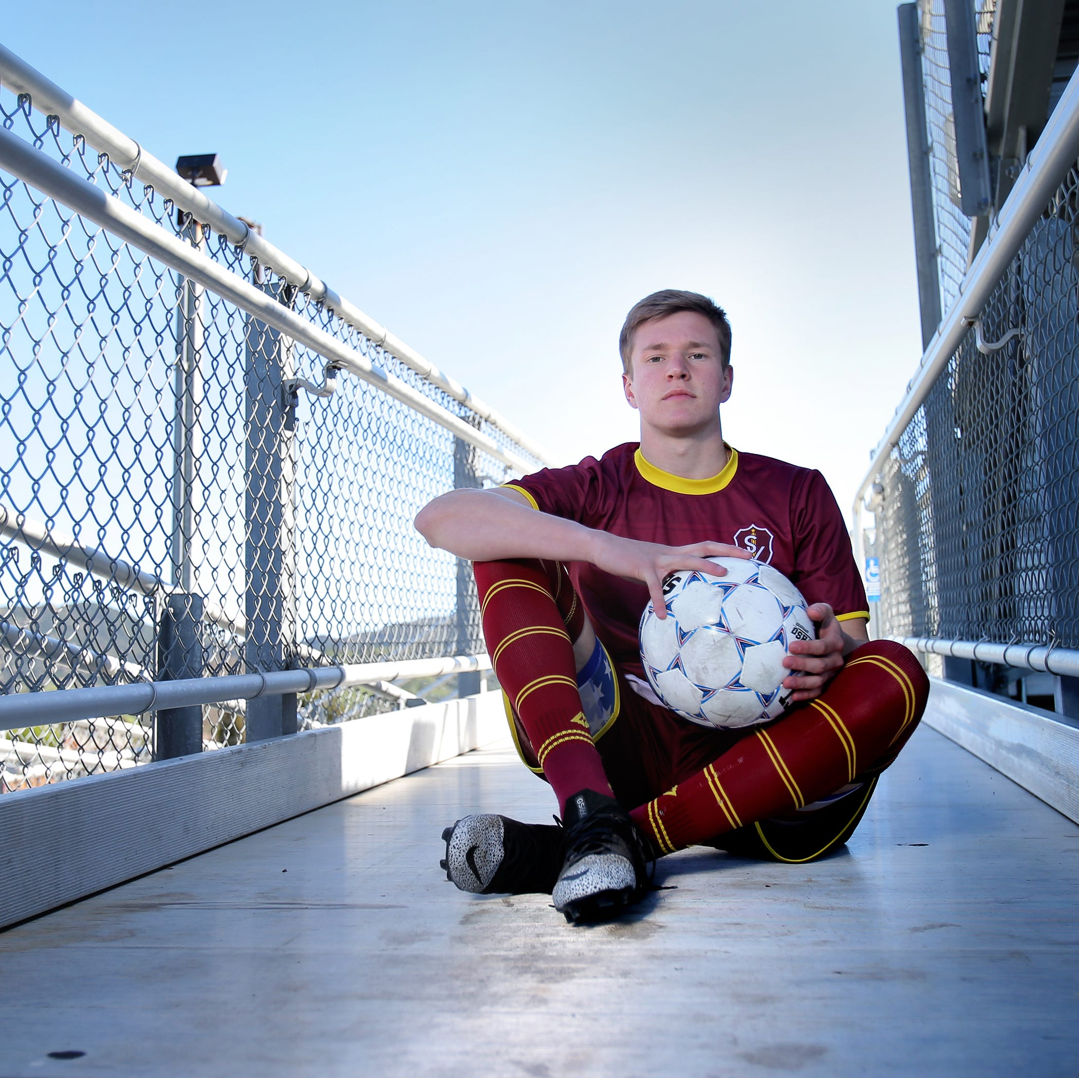 Simi Valley's Dylan Studer is The Star's Boys Soccer Player of the Year