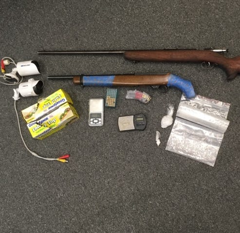 Police find drugs, weapons in Visalia couple's home