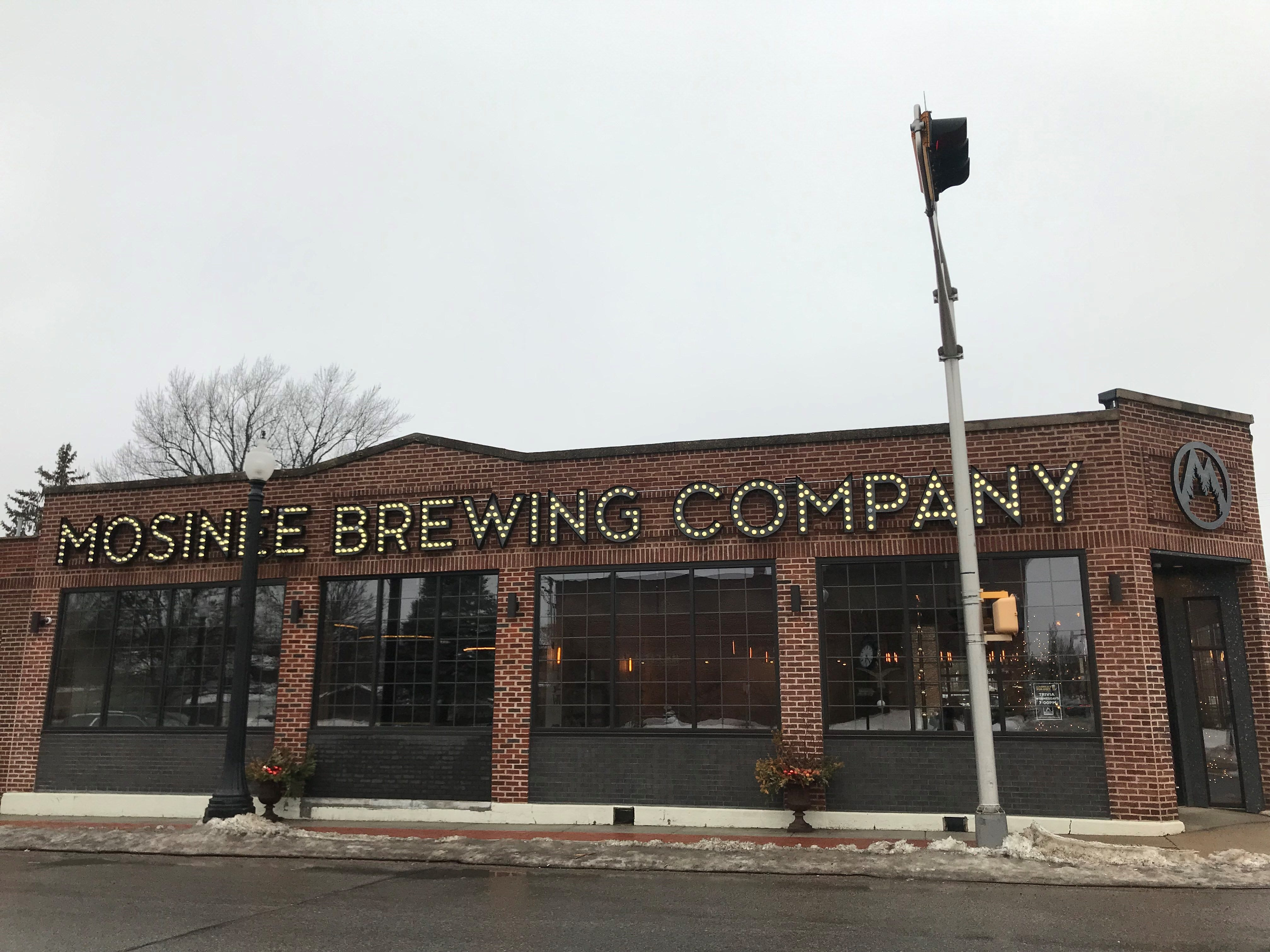 Mosinee Brewing Company opened at 401 4th St. in November 2018, but began making its own beer on March 12, 2019 after delays from the federal government shutdown.
