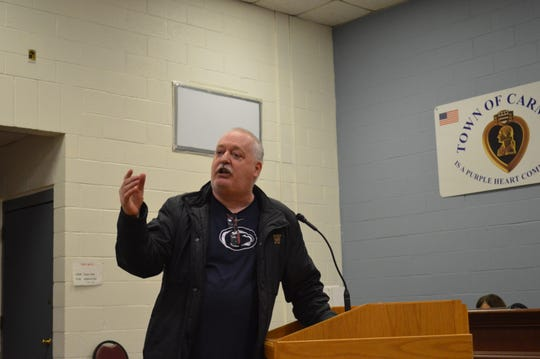 Mahopac resident Robert Buckley wants the town to test the soil at Swan Cove.