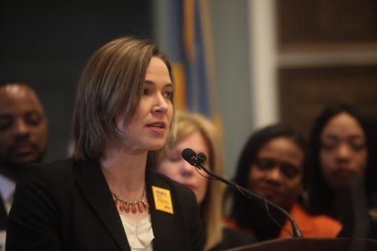 Karen Lantz, staff attorney for the ACLU of Delaware