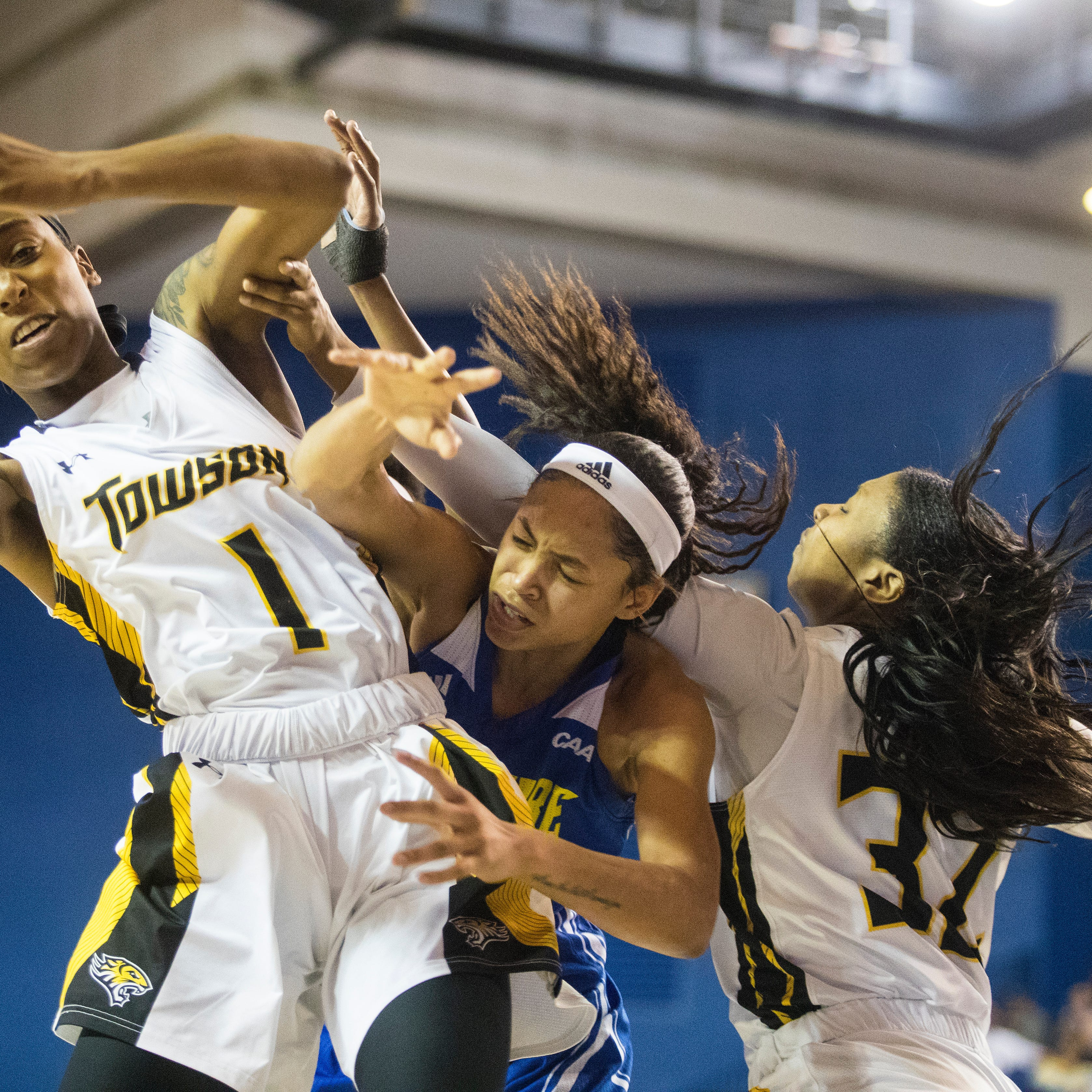 Delaware falls to Towson in CAA women's basketball tournament