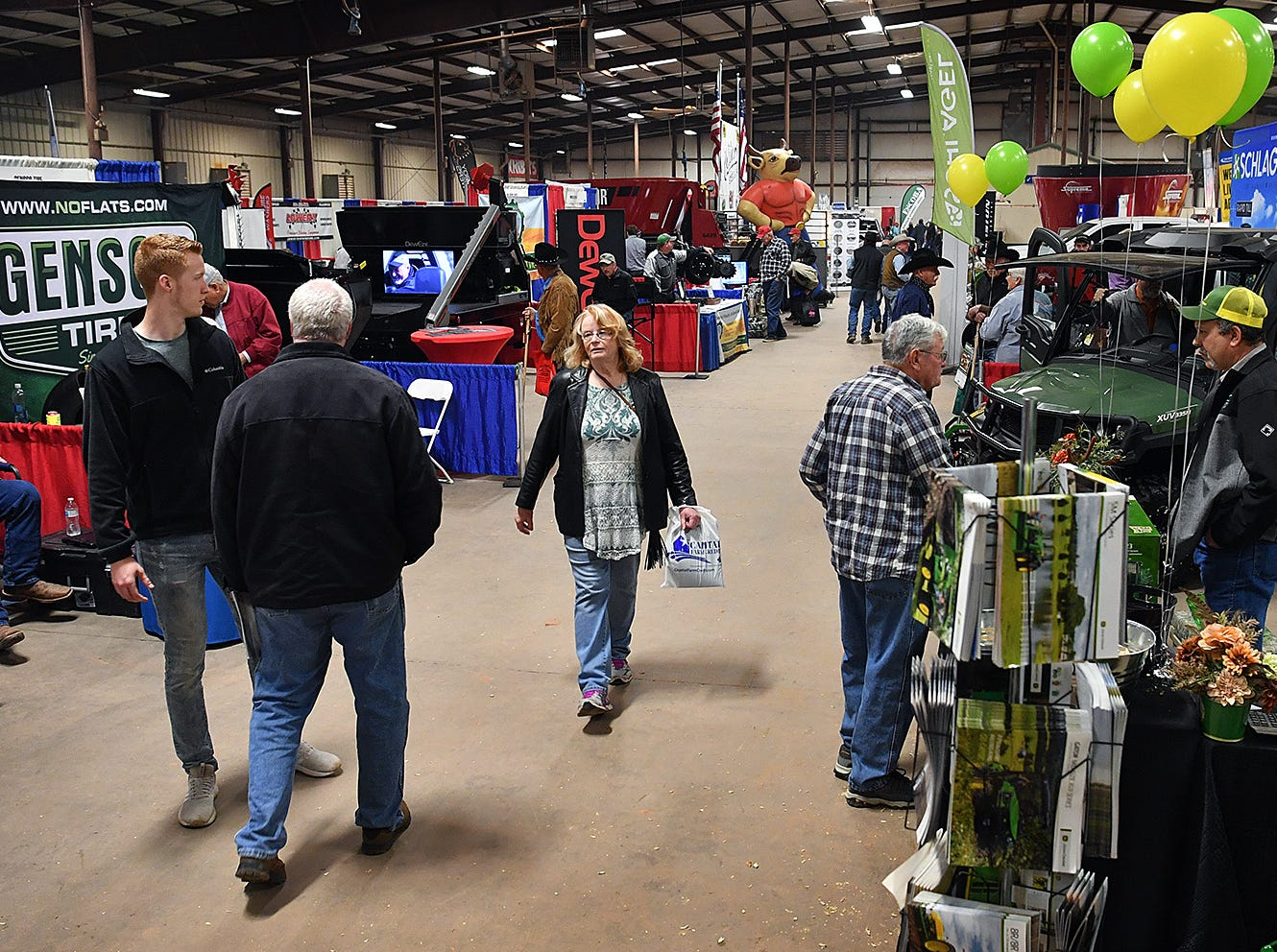 The Wichita Falls Ranch and Farm Expo at the Bridwell Ag Center features a wide variety of vendors with products and services for agriculture, hunting, ranching and rural living.