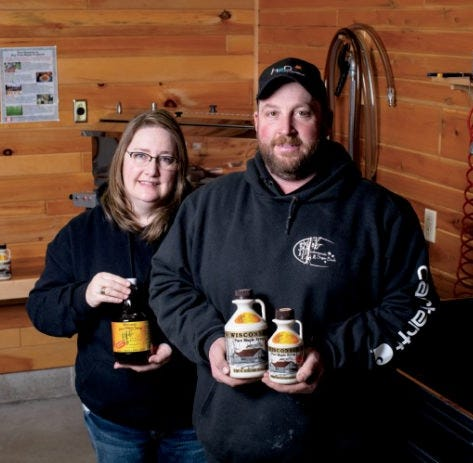 Come meet these northeast Wisconsin maple syrup producers