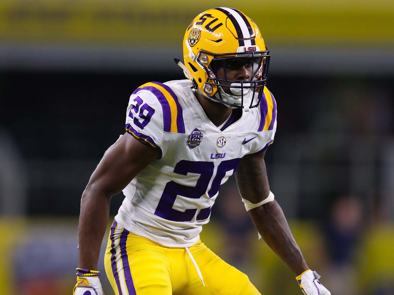 26. Colts — Greedy Williams, CB, LSU