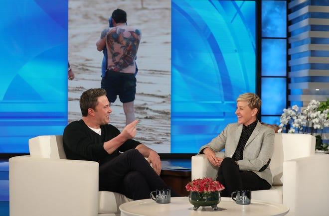 "Ben Affleck appears on ""The Ellen DeGeneres Show"" Thursday, March 14."