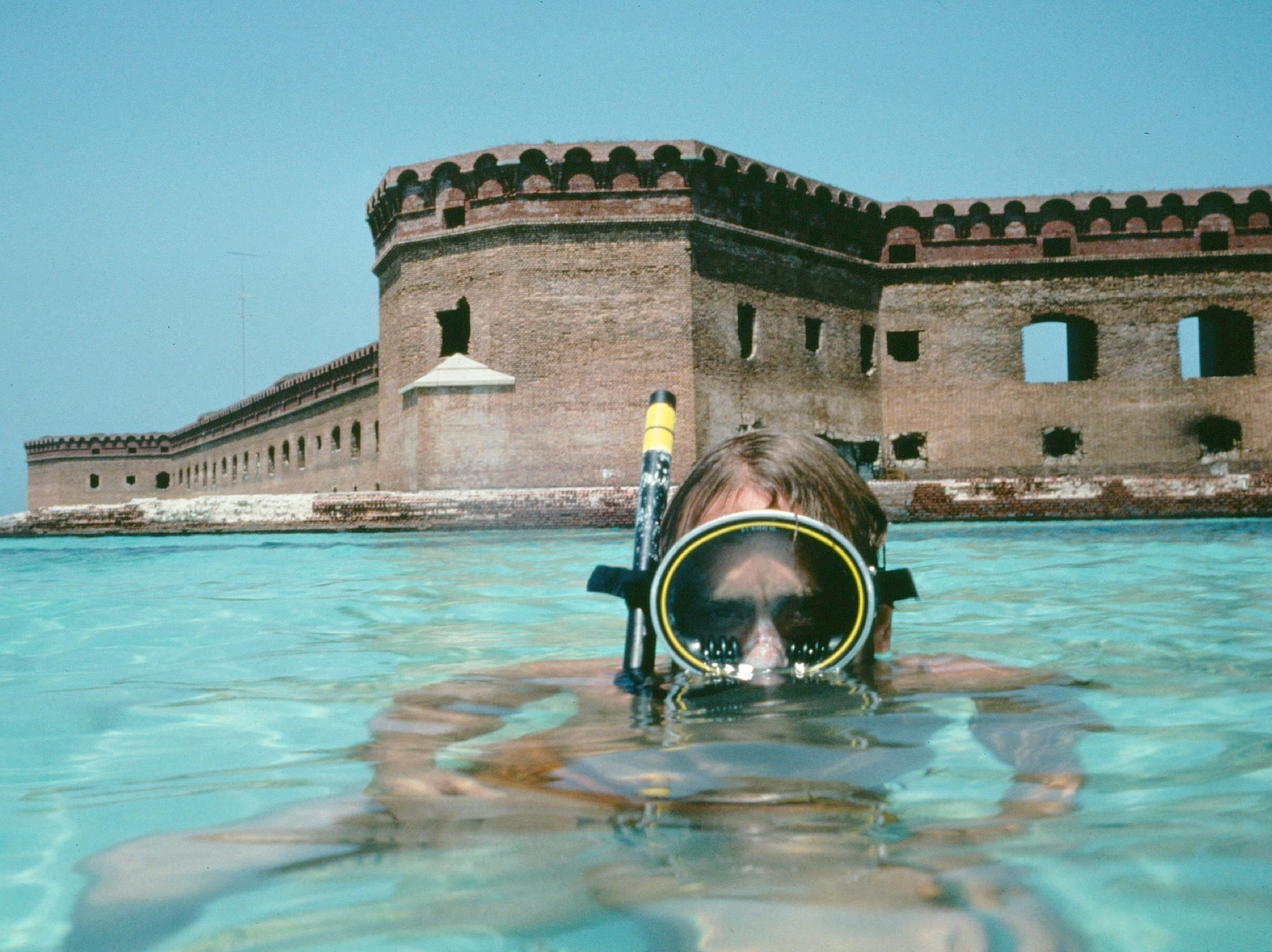 Dry Tortugas National Park.  The coral reefs at this park are as close as one can get to a pristine underwater world inside the boundaries of the lower 48. A visit to Dry Tortugas can yield the same kind of natural beauty that might otherwise be seen in a visit to the Caribbean or another more remote and expensive vacation spot. --- DATE TAKEN: rec'd 03/05  No Byline   Everglades National Park        HO      - handout   ORG XMIT: ZX32585