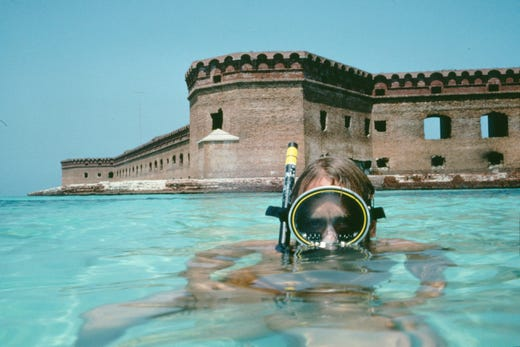 8. Dry Tortugas National Park: 56,810 visitors