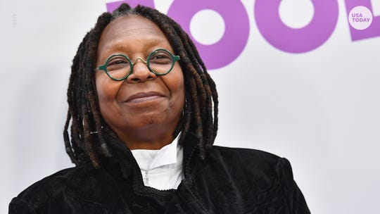 "Whoopi Goldberg and her co-stars tackled Trump's U.K. visit on Monday's episode of ""The View."""