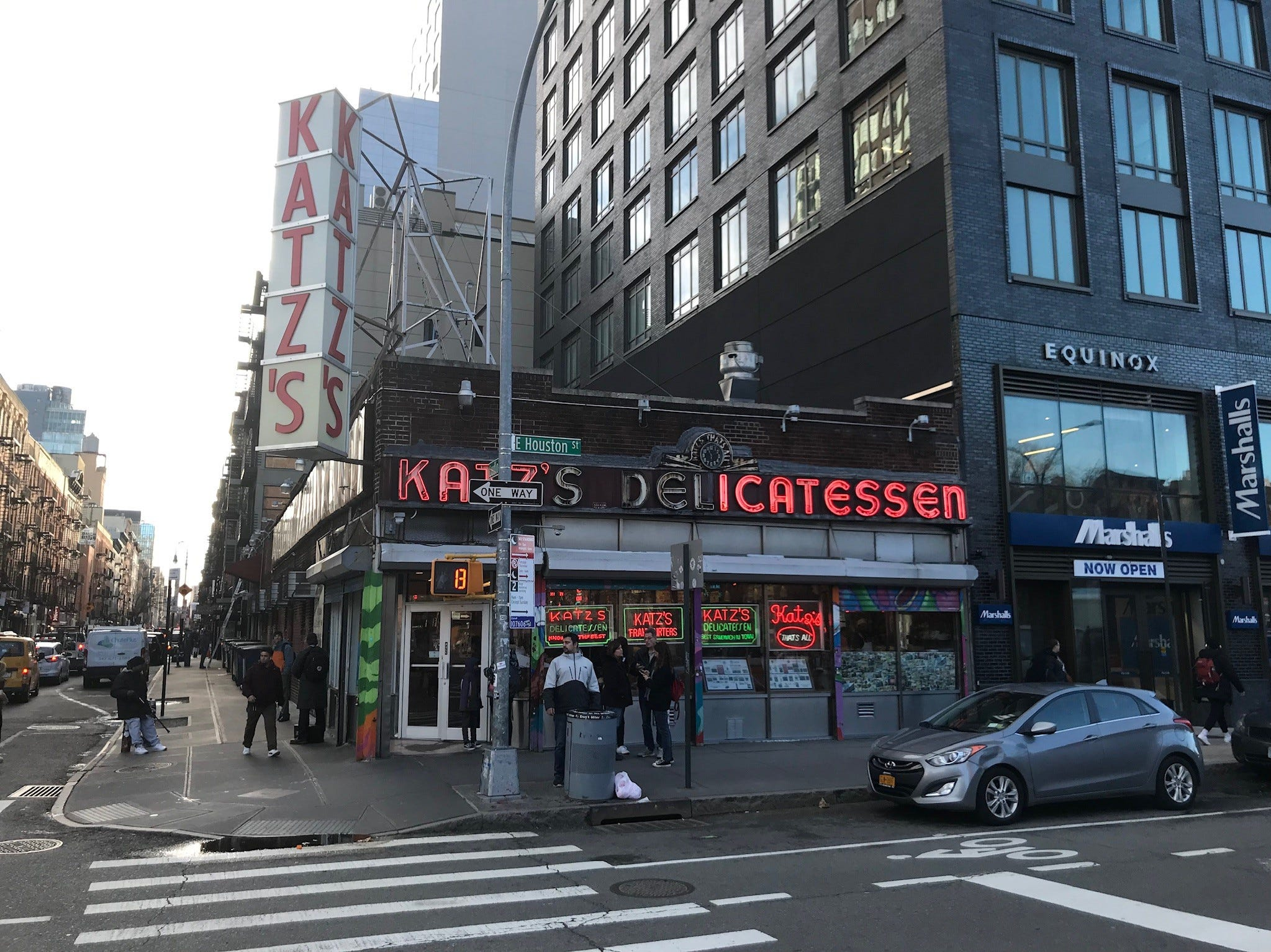A true Big Apple icon, Katz's Deli has occupied a corner on Manhattan's Lower East Side for the past 131 years.