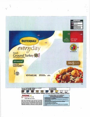 Butterball isrecalling more than 78,000 pounds of raw ground turkey due to salmonella concerns.