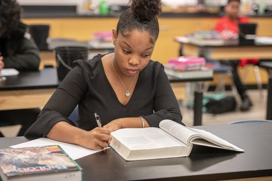 """Jordan Nixon says her college application process peaked last fall: """"Stressful, stressful to say the least."""""""