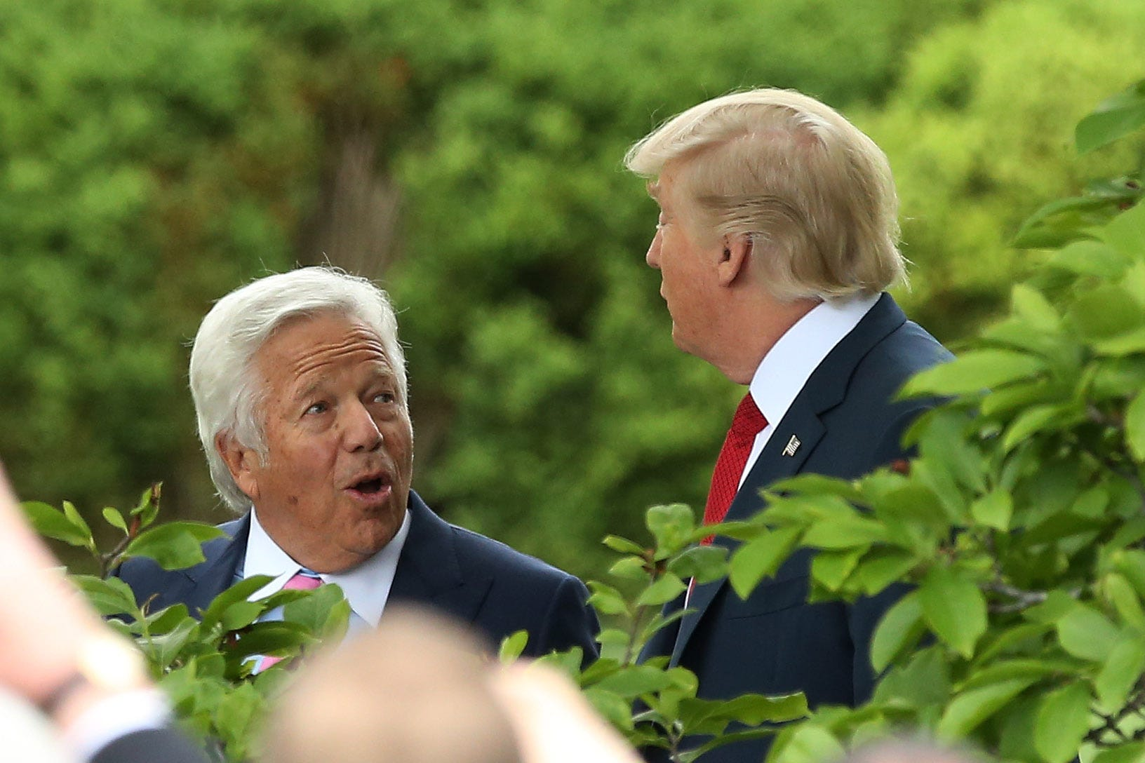 Mosque Killer S Rifles Bore: Patriots Owner Robert Kraft: Love And Loss Marked