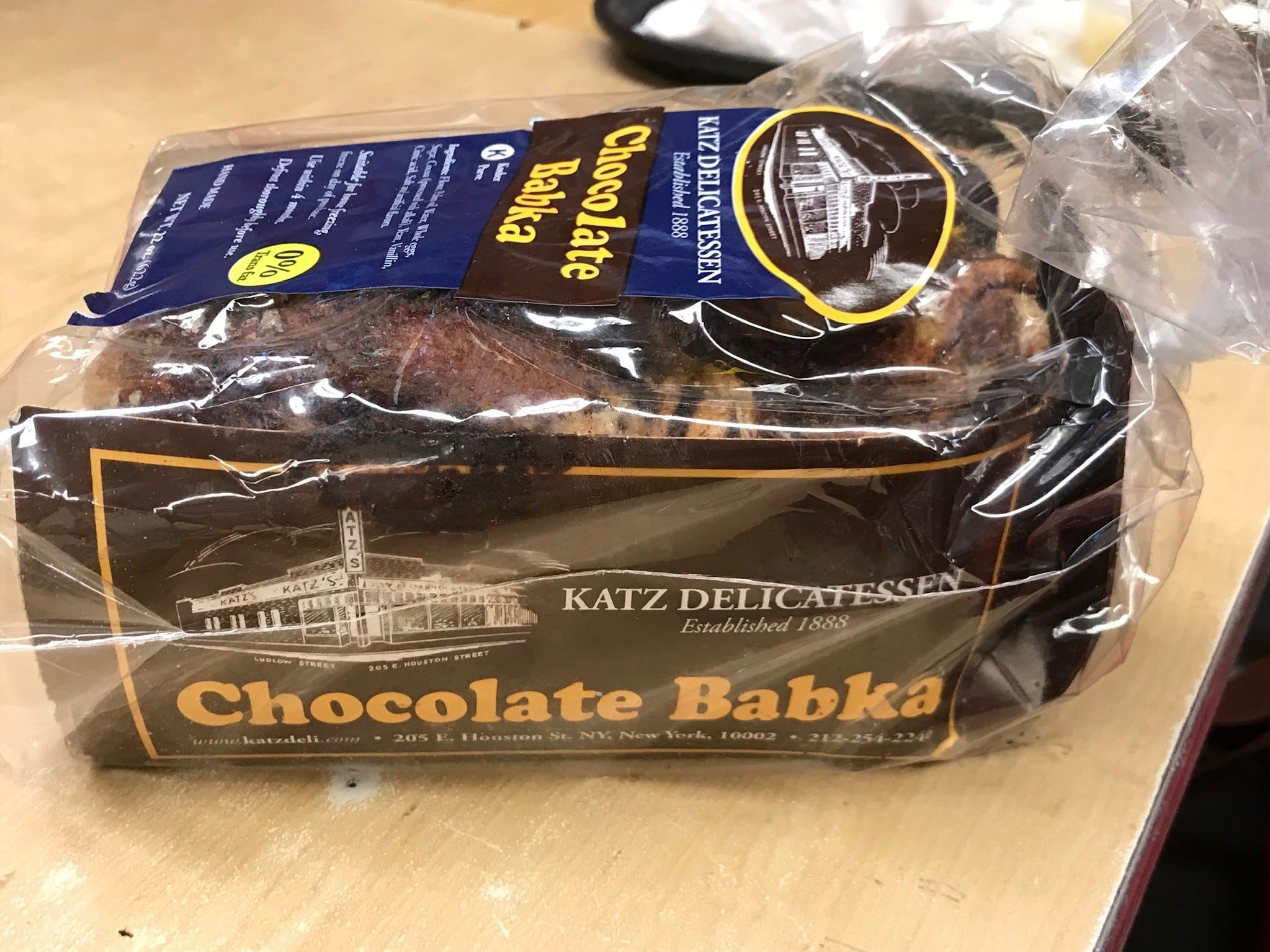 The superlative chocolate babka (also available in cinnamon) is sold in whole loaves to go, but you can enjoy it right here.