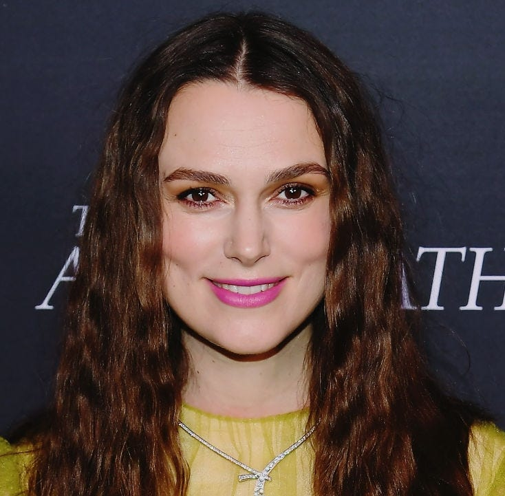 Keira Knightley's daughter likes to play act 'Paw Patrol.' She doesn't think mom always nails her part, though.