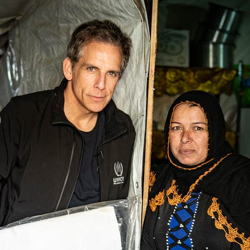Actor Ben Stiller: I met Syrian refugees living on a knife's edge, and there are millions more