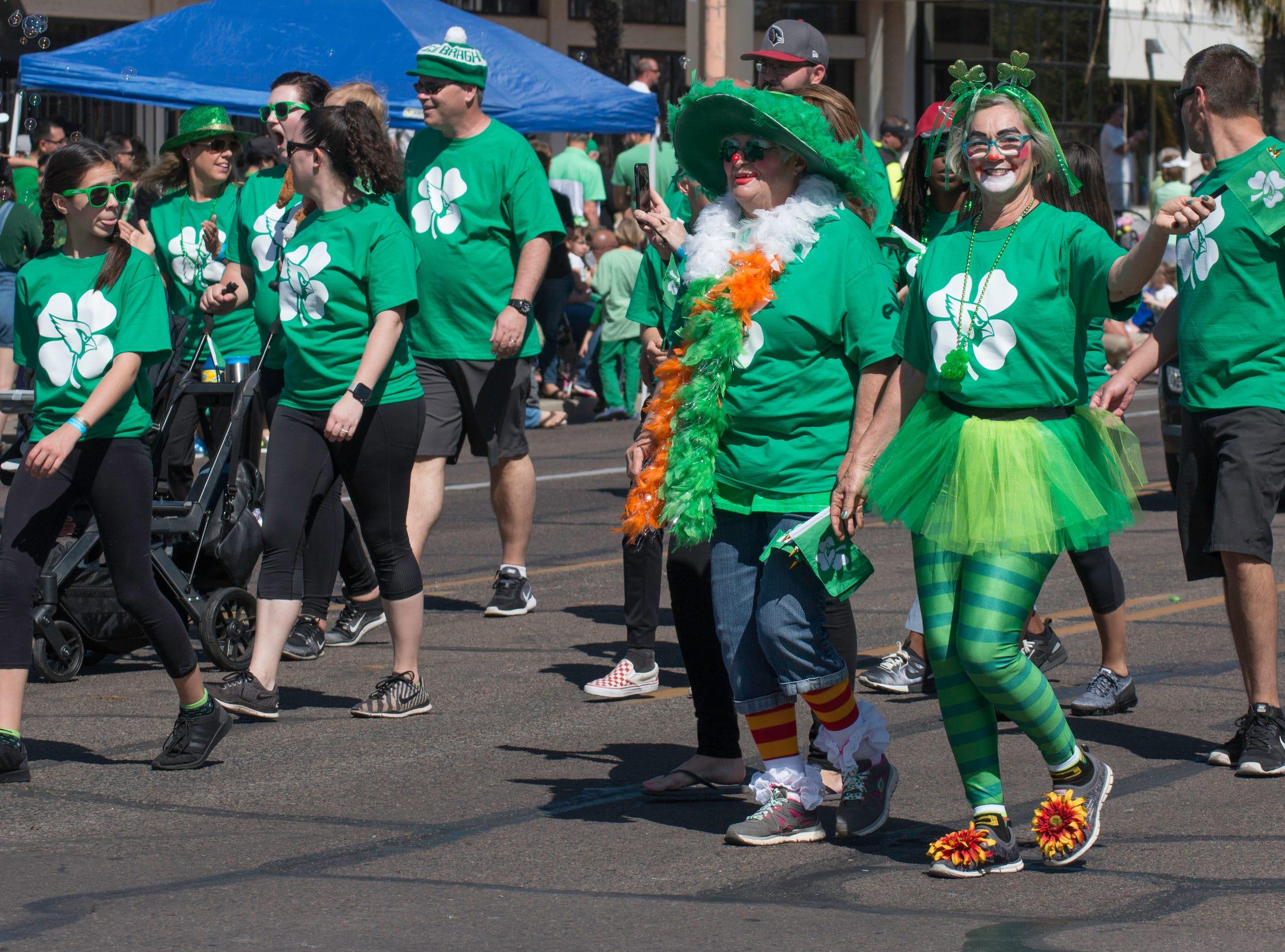 Phoenix Danny Raustadt St Patricks Day Parade 2