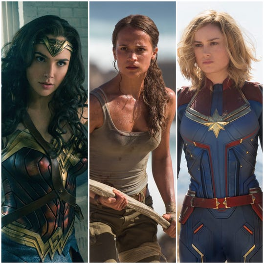 "I don't want to say anything negative about ""Wonder Woman,"" ""Tomb Raider"" and ""Captain Marvel,"" because I want more action heroines in movies. Is that wrong?"