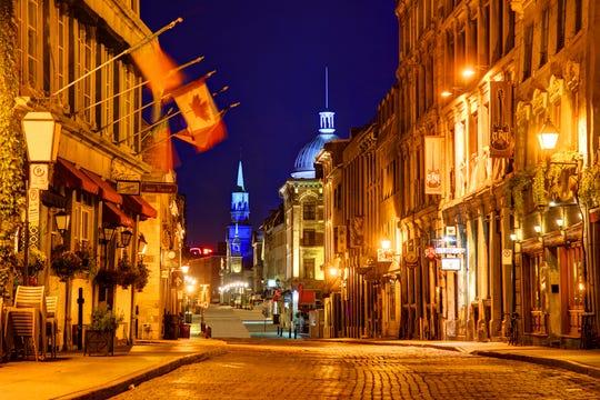 This urban metropolis owes its European flair to its French heritage.