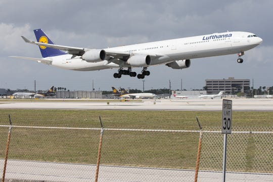 German airline Lufthansa is launching a website that allows customers to buy climate-friendly plane fuel to compensate for the emissions caused by their flight.