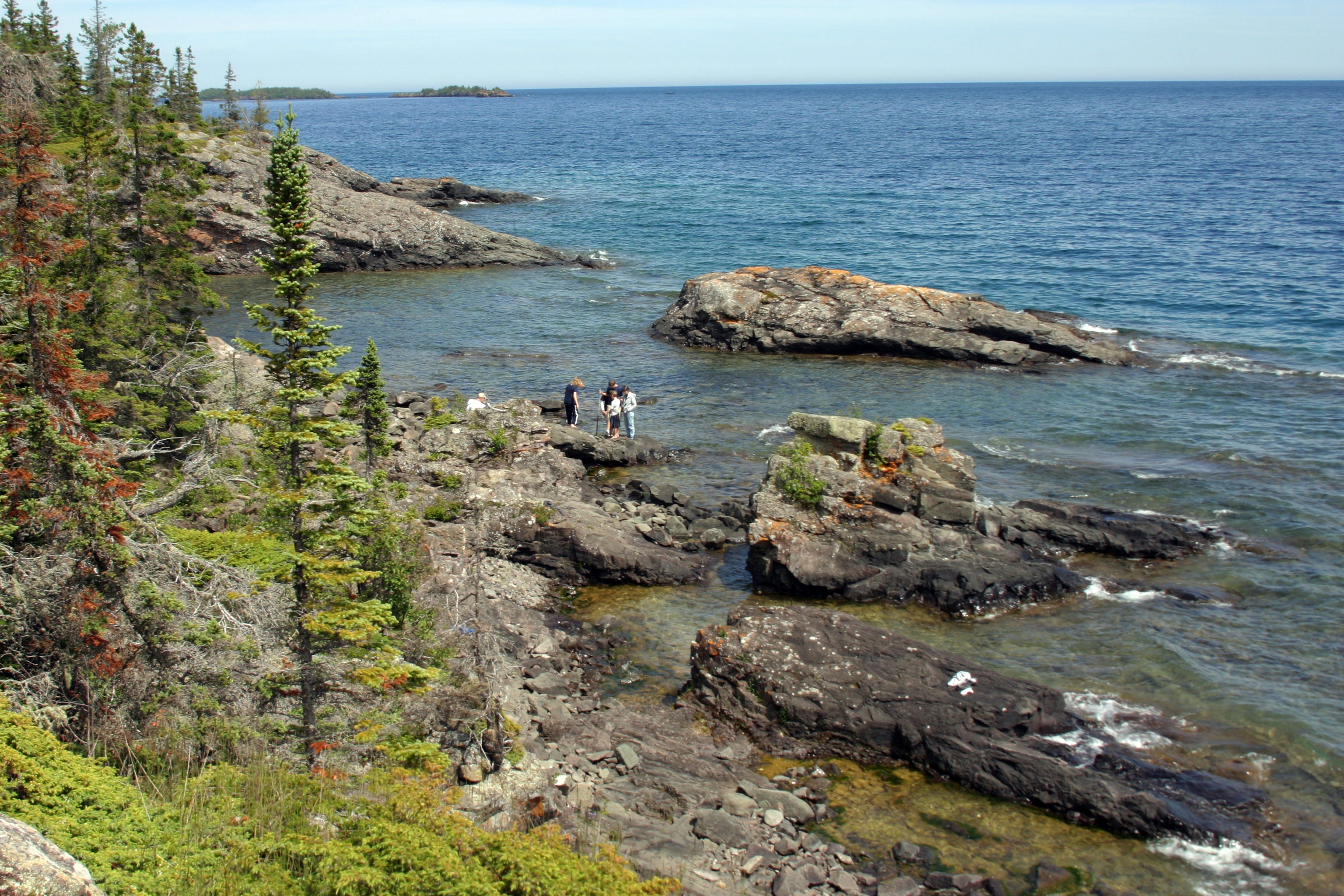 MICHIGAN: On isolated Isle Royale National Park in the middle of Lake Superior, every trail is a remote trail. [Via MerlinFTP Drop]