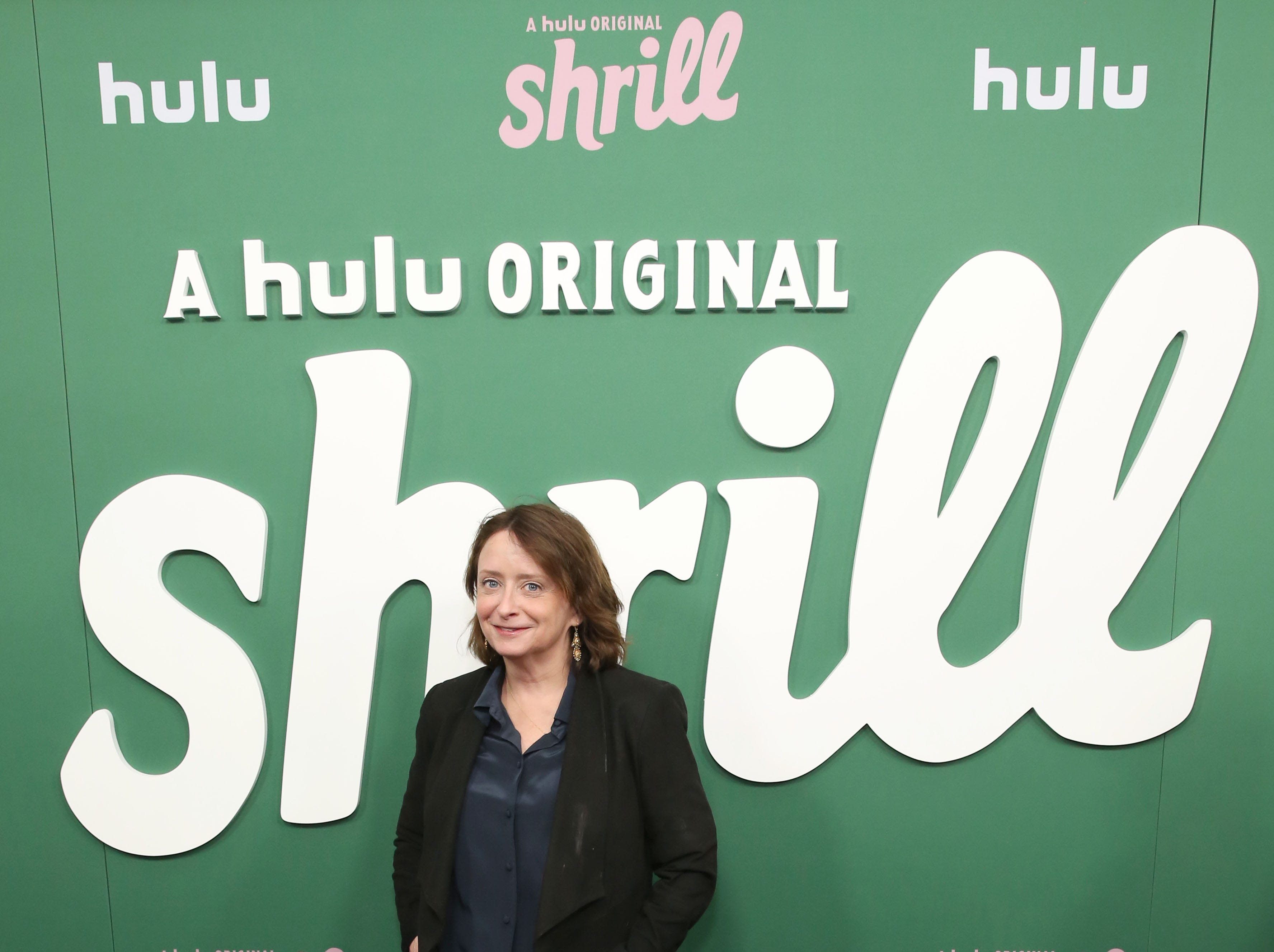 "NEW YORK, NEW YORK - MARCH 13: Rachel Dratch attends Hulu's ""Shrill"" New York Premiere at Film Society of Lincoln Center - Walter Reade Theater on March 13, 2019 in New York City. (Photo by Monica Schipper/Getty Images for Hulu) ORG XMIT: 775312077 ORIG FILE ID: 1135631627"