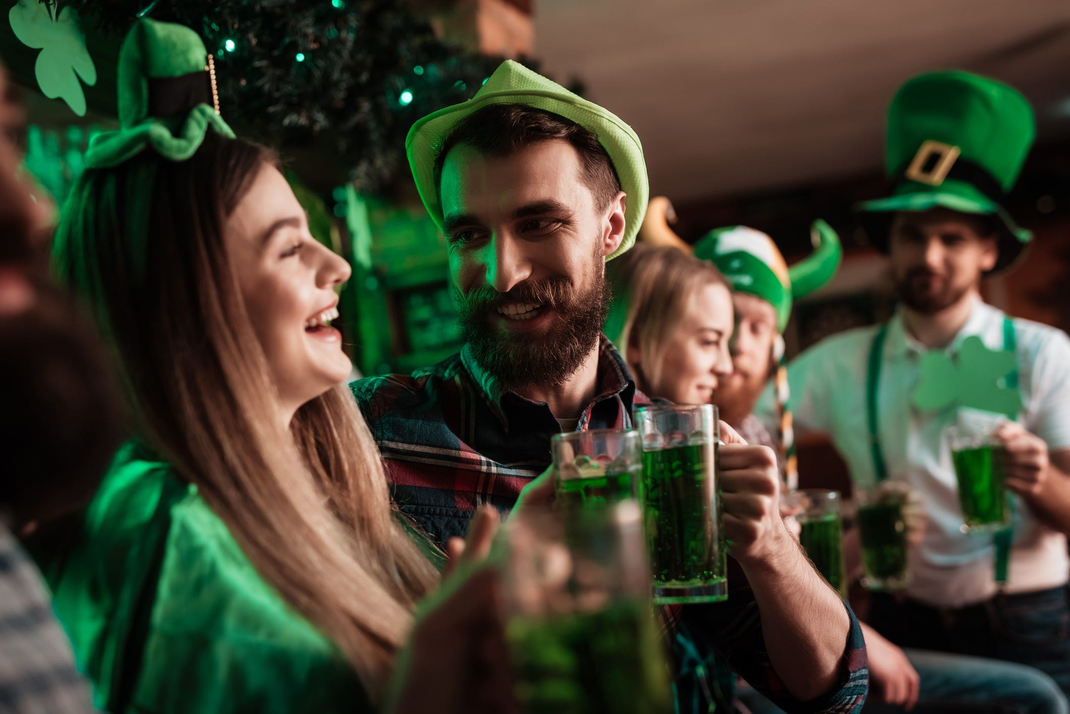ad9811111 St. Patrick s Day 2019  Where to get green food