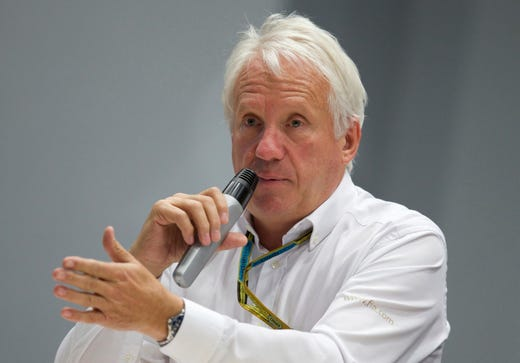 Charlie Whiting, motor sports, 1952-2019