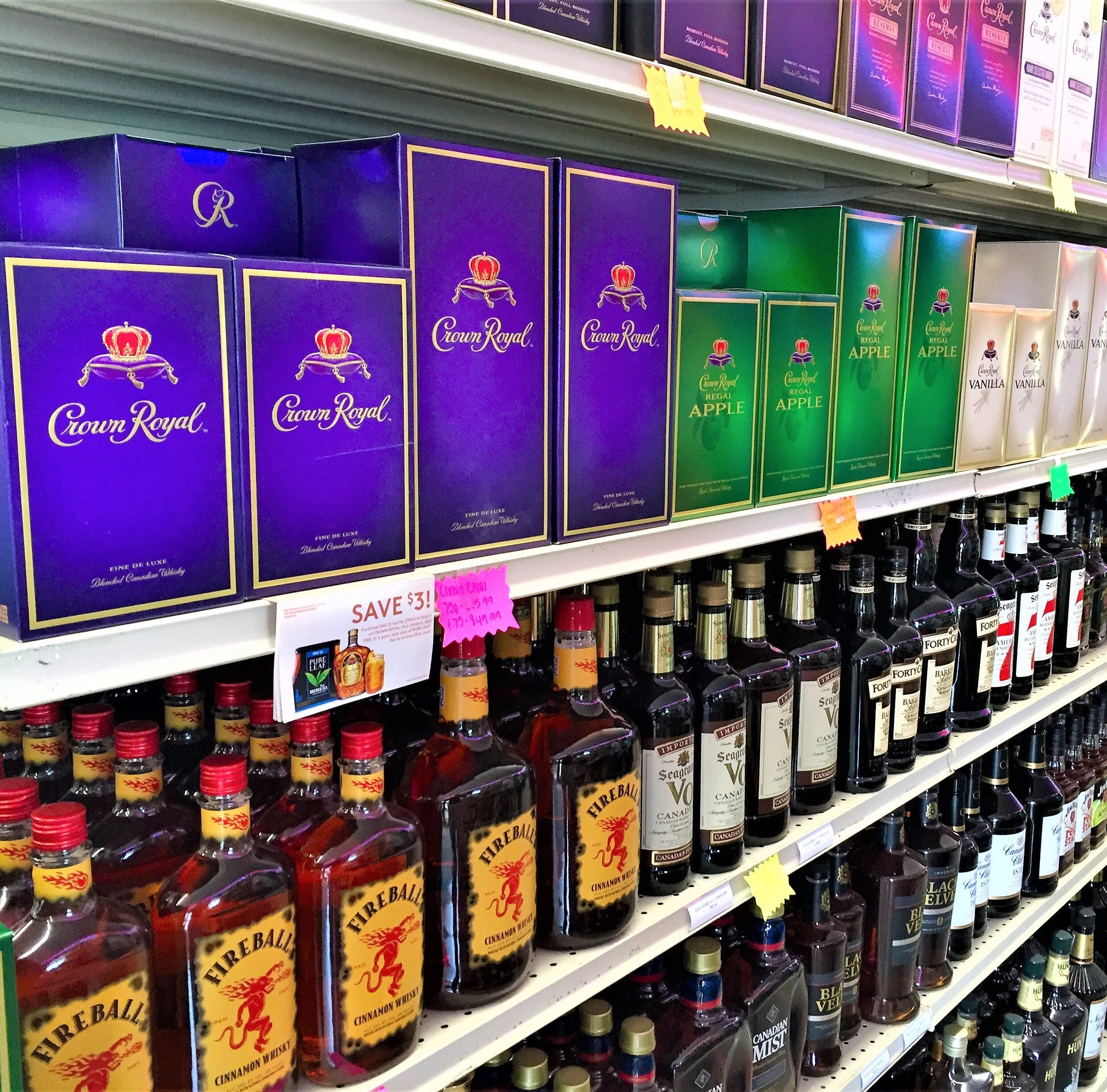 Pineville retailers now selling alcohol