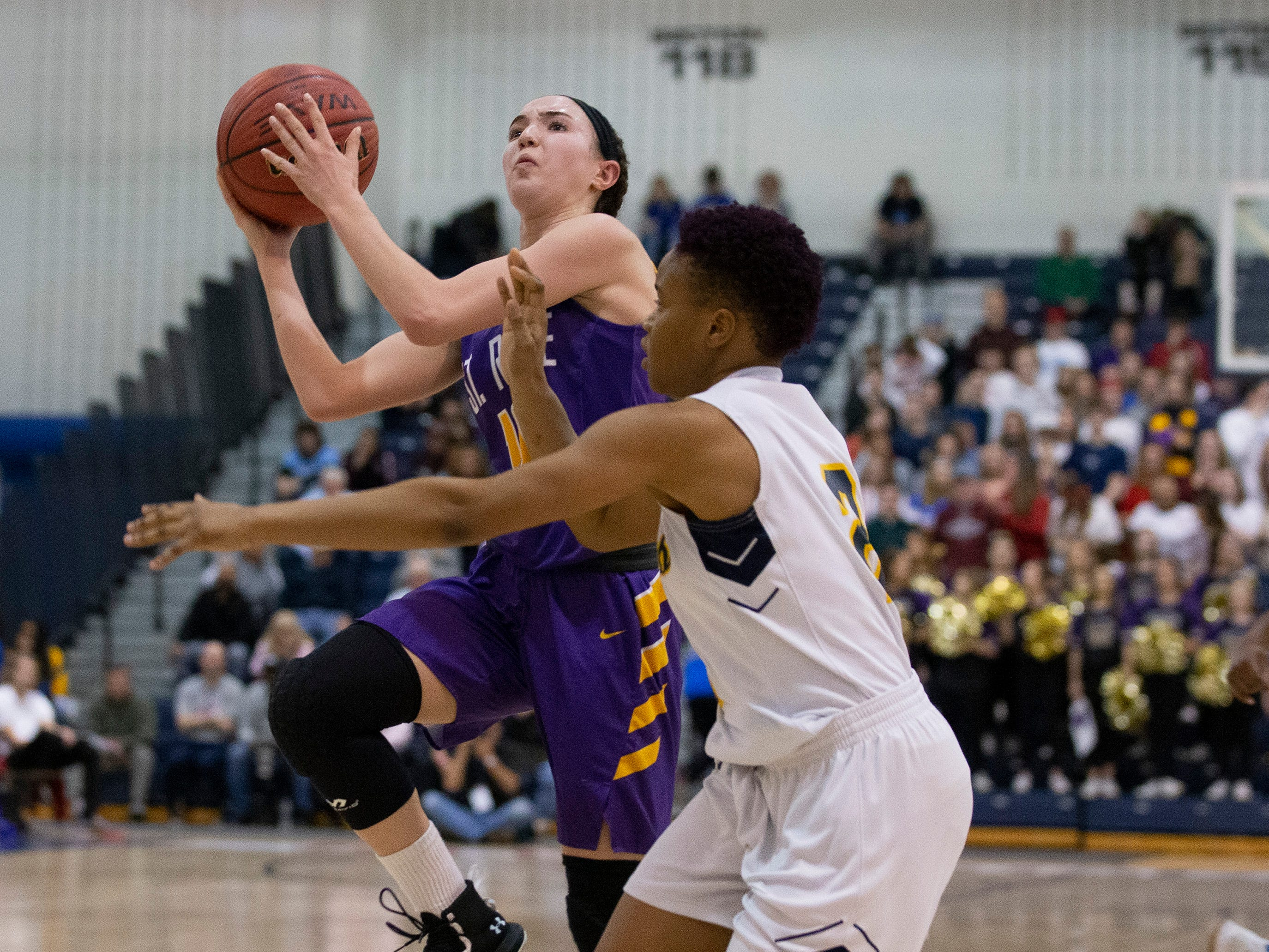 St Rose Girls Basketball vs Franklin High School in NJSIAA Tournament of Champions Semifinal in Toms River on March 14, 2019.