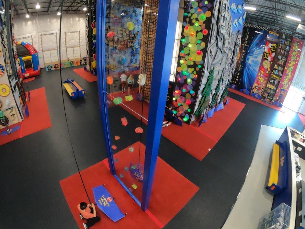ClimbZone, a family entertainment venue that features dozens of climbable walls, is expected to open in Howell in mid May