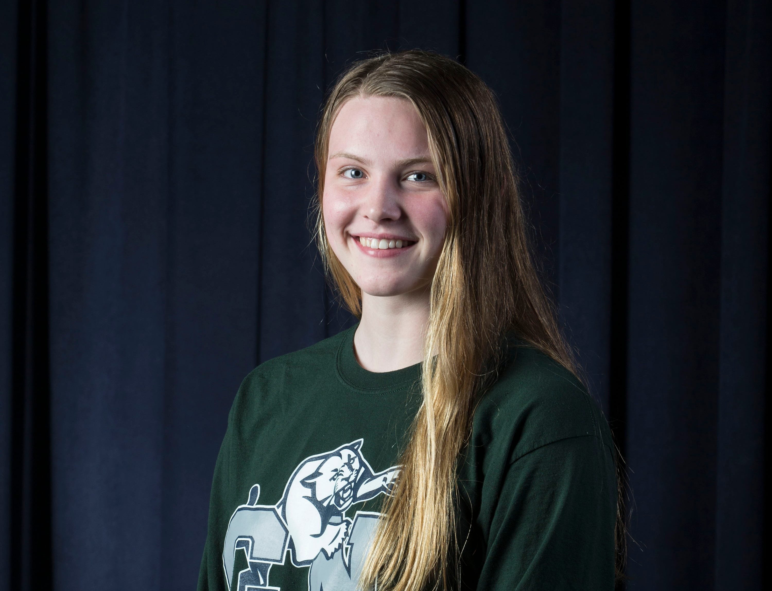 The 2019 All-Shore Girls Swim Team- Megan Judge of Colts Neck