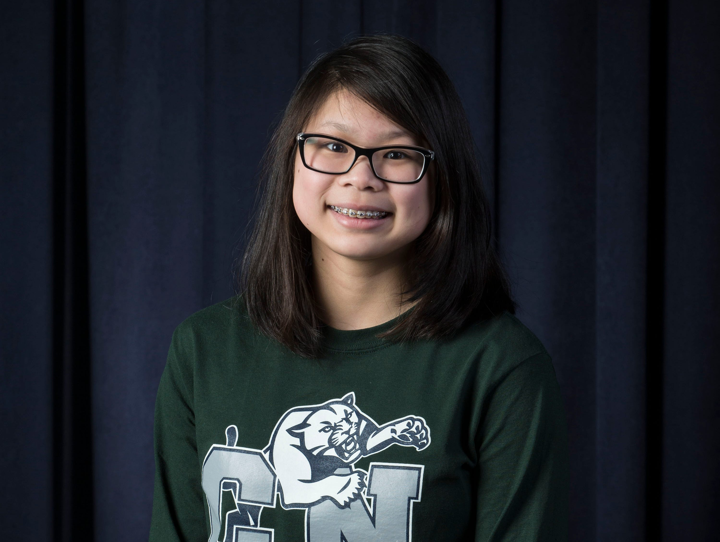 The 2019 All-Shore Girls Swim Team- Arabella Lee of Colts Neck