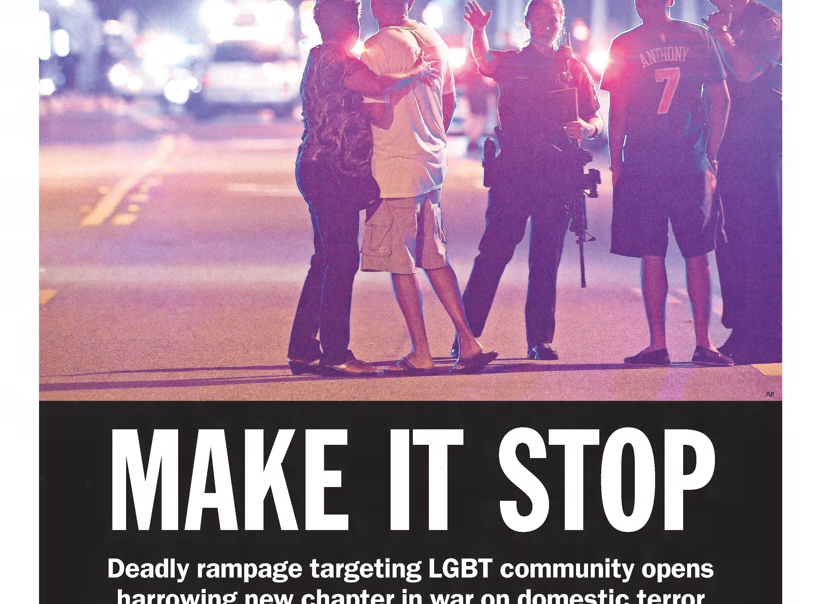 The deadliest mass shooting in American history - until the following year - takes place at a nightclub in Orlando, Florida, in this edition from Monday, June 13, 2016; 49 people are murdered and 53 others are wounded.