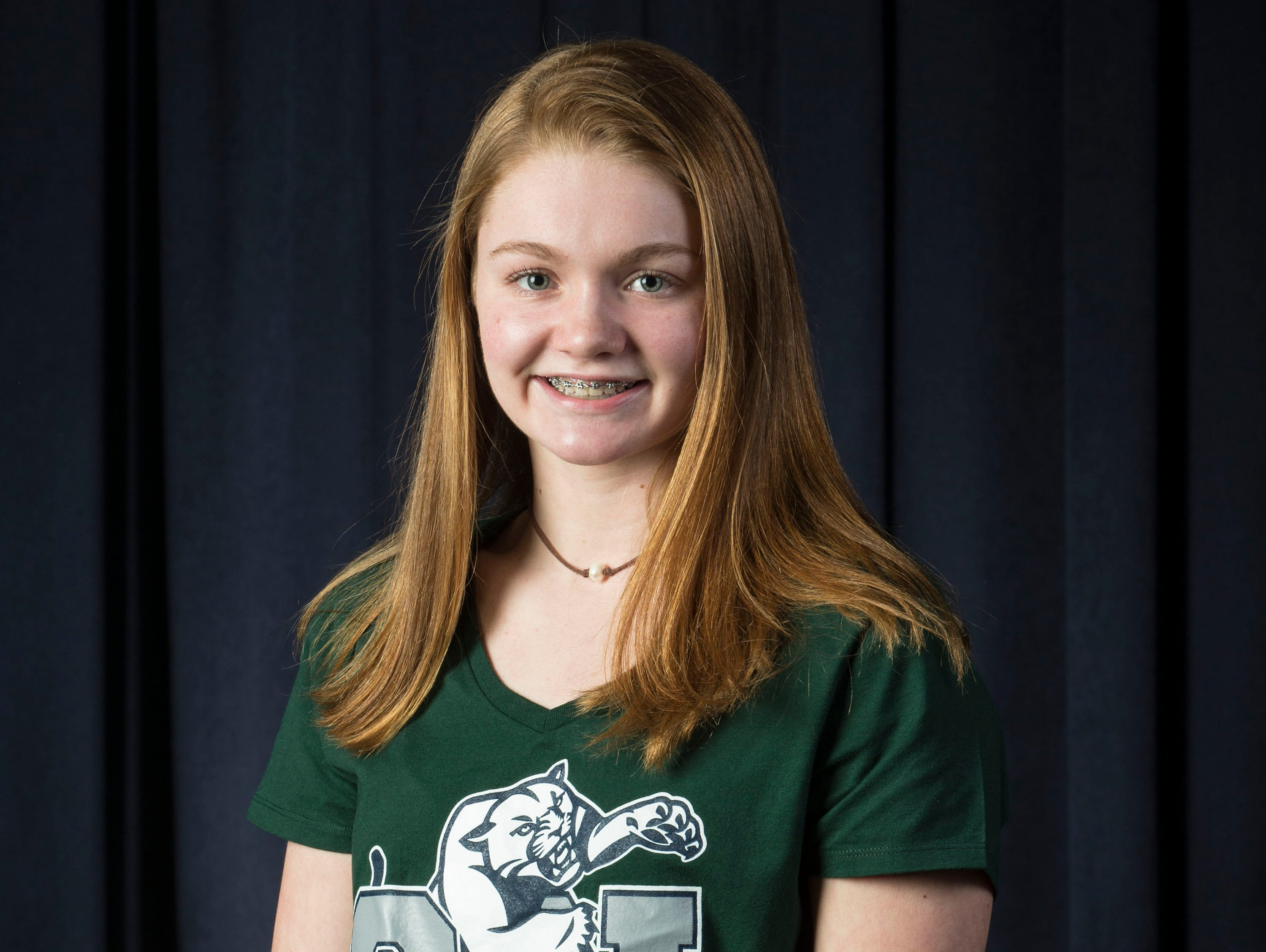The 2019 All-Shore Girls Swim Team- Emma Shaughnessy of Colts Neck