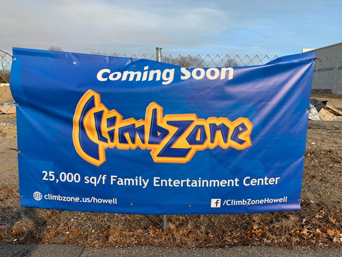 ClimbZone hopes to open at GreenLeaf at Howell in mid May.