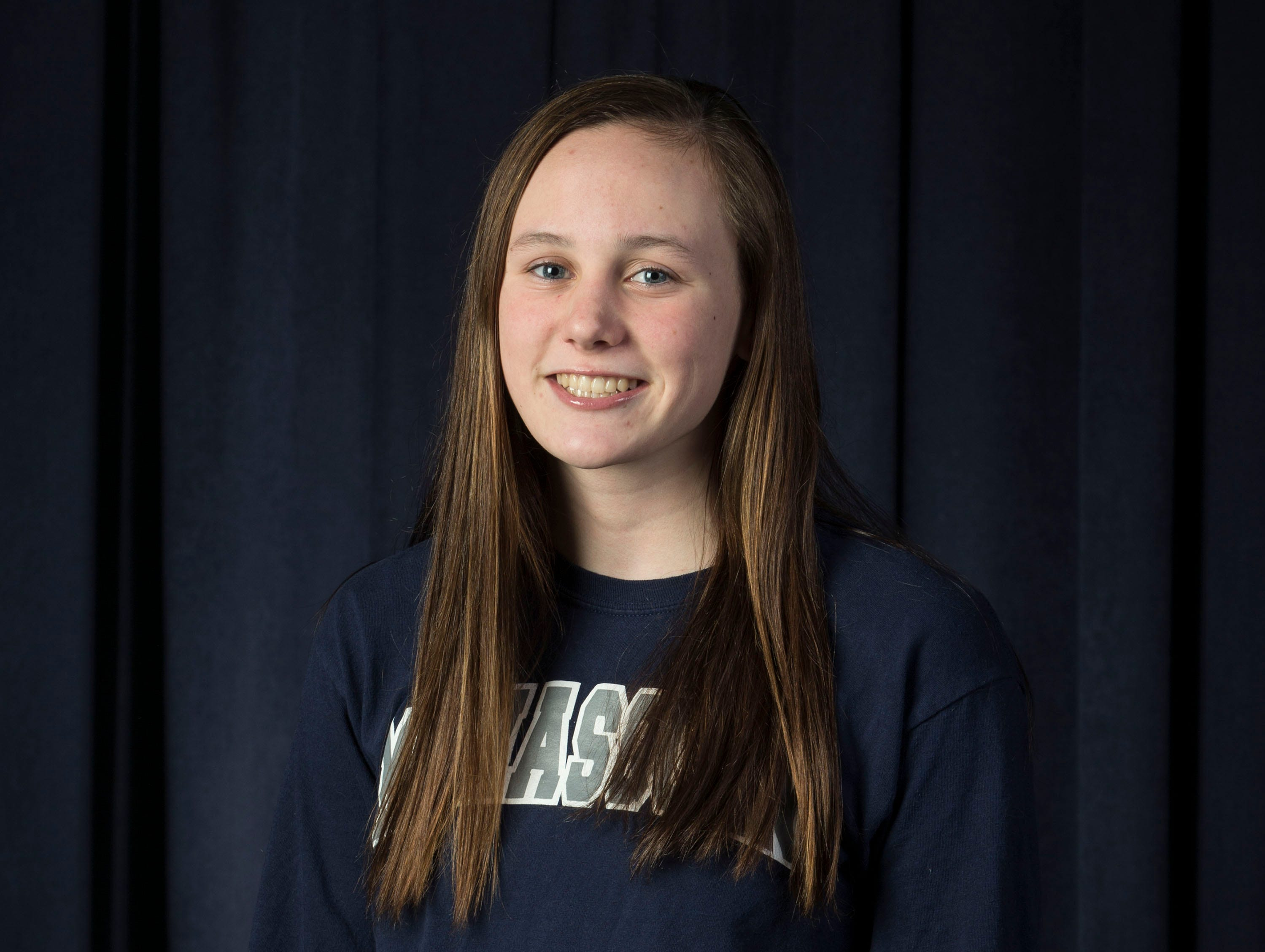 The 2019 All-Shore Girls Swim Team- Sarah Eldridge of Manasquan