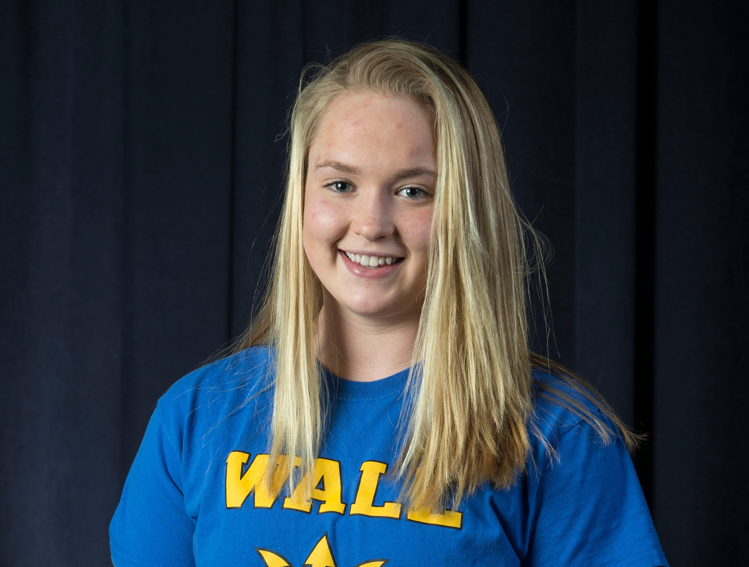 The 2019 All-Shore Girls Swim Team- Grace Kayal of Wall