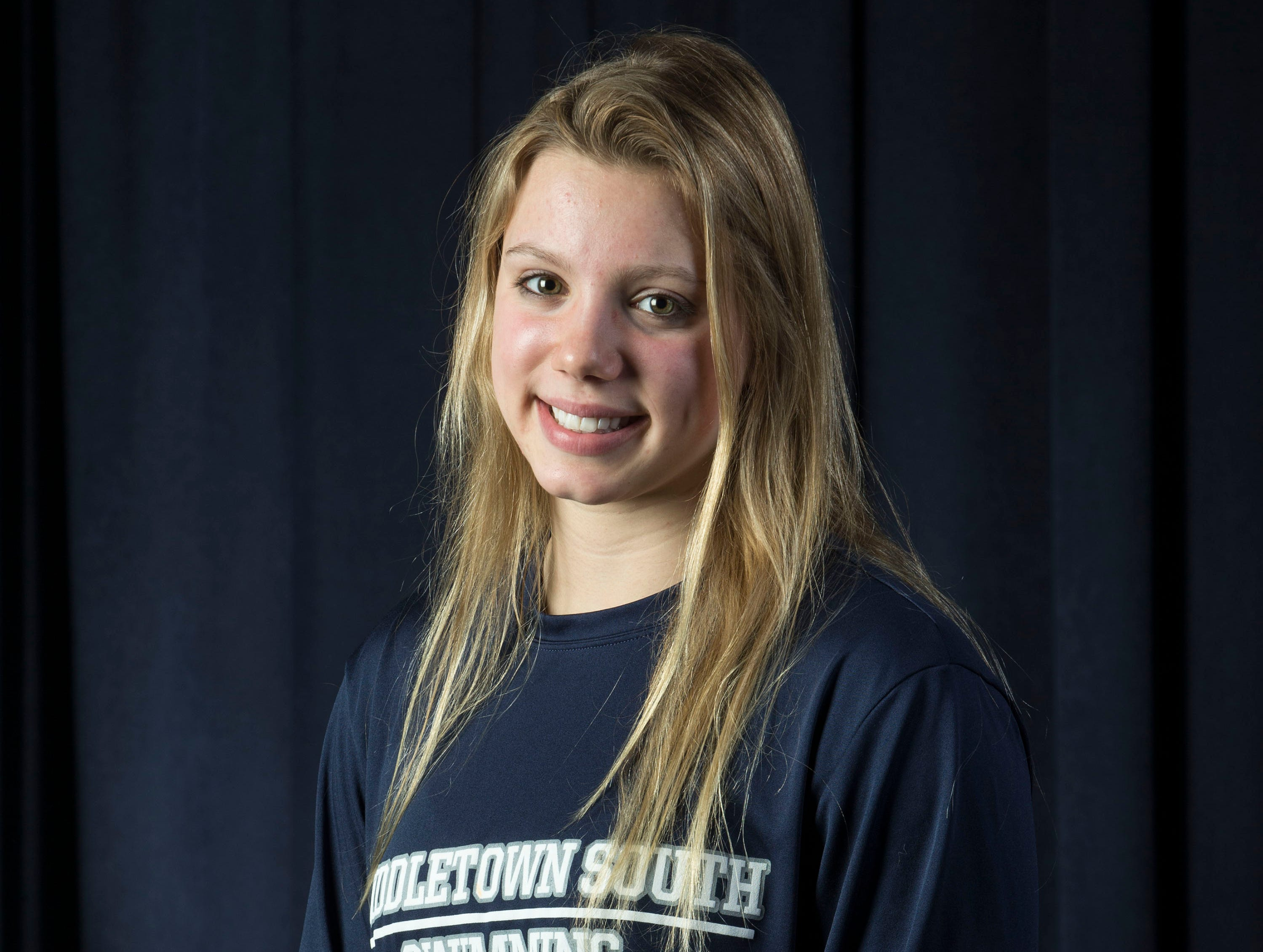 The 2019 All-Shore Girls Swim Team- Victoria Ireland of Middletown South