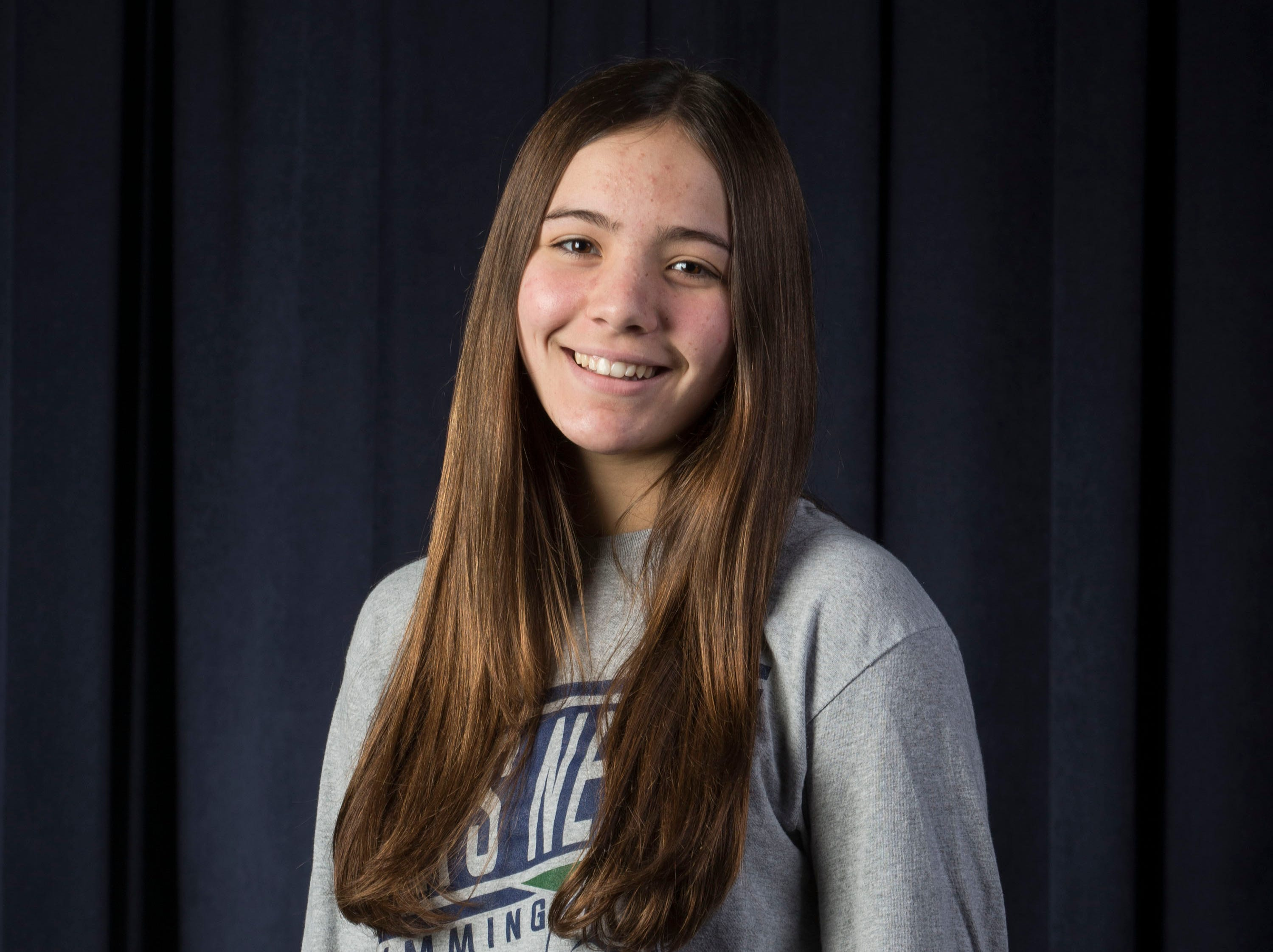 The 2019 All-Shore Girls Swim Team- Ashleigh Anzevino of Colts Neck
