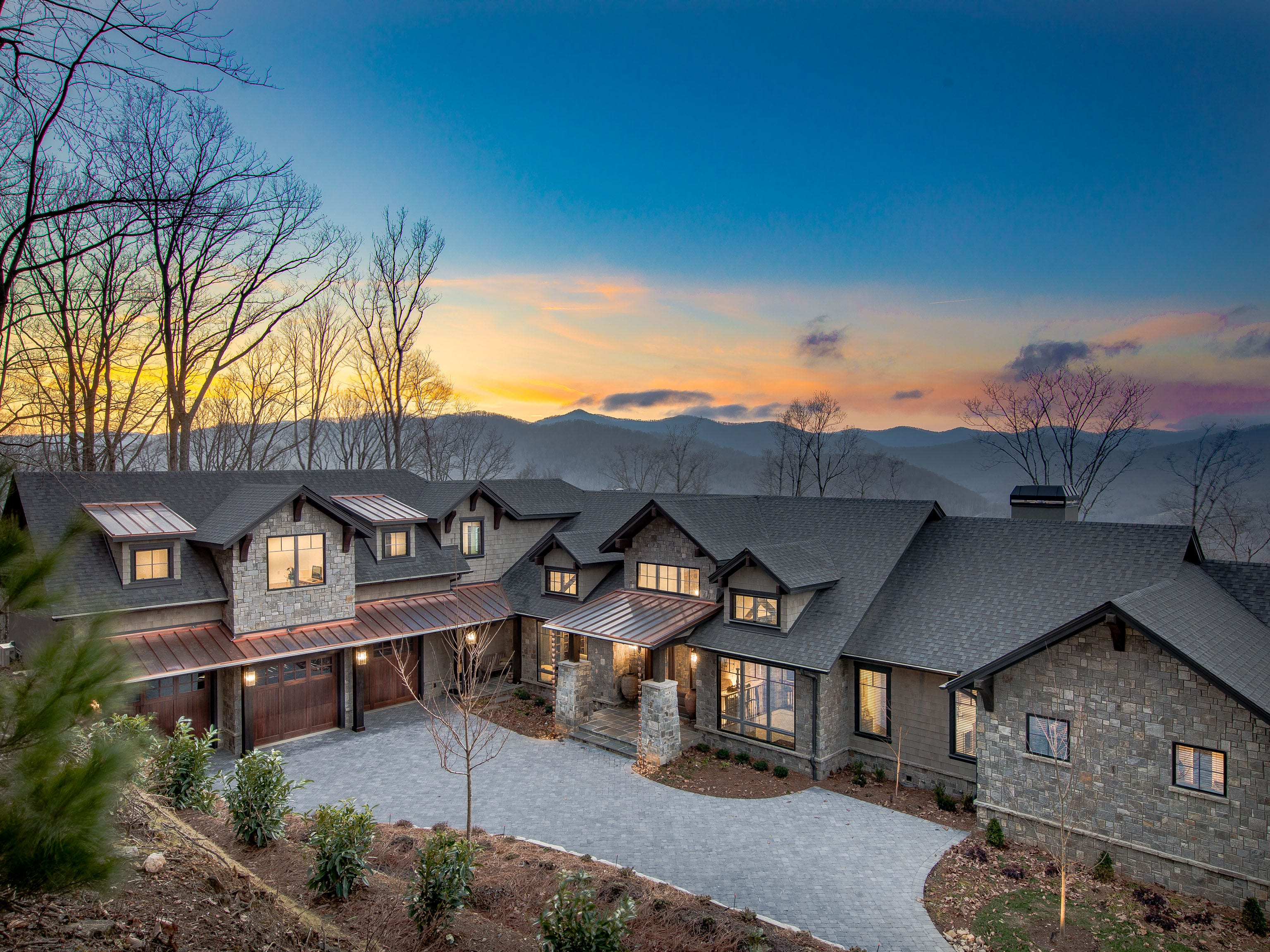 This home on Deer Grass Court in the Cliffs at Walnut Cove sold in March 2019 for $3.5 million, the second most expensive sale in the community's history. At 8,100 square feet, it has five bedrooms and 5.5 bathrooms.