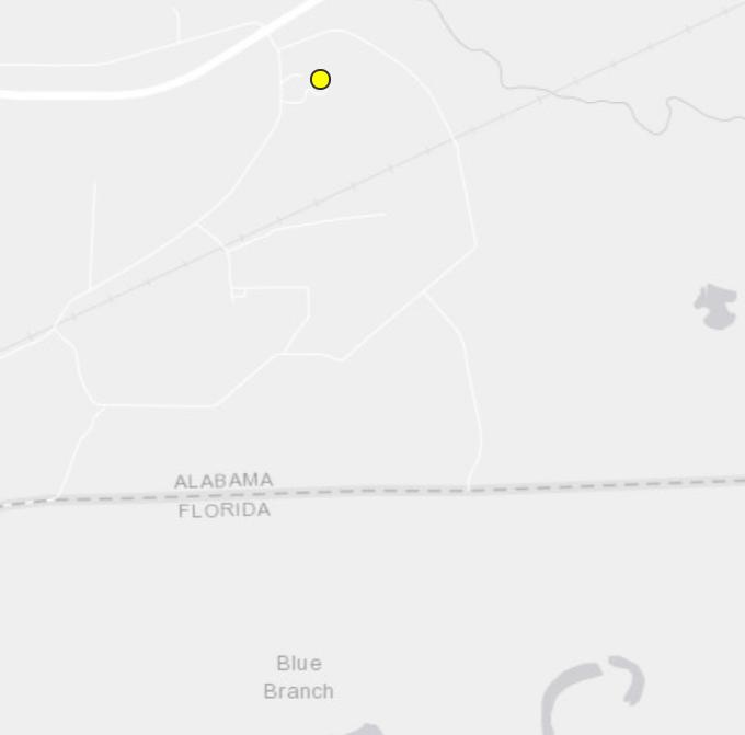 4 earthquakes within 1 week reported near Florida-Alabama line
