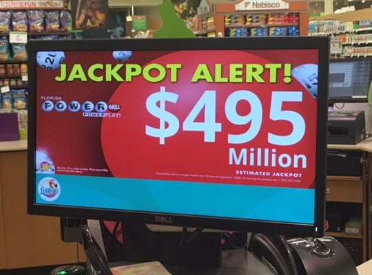 Powerball approaches half a billion dollars for St. Patrick's Day weekend.