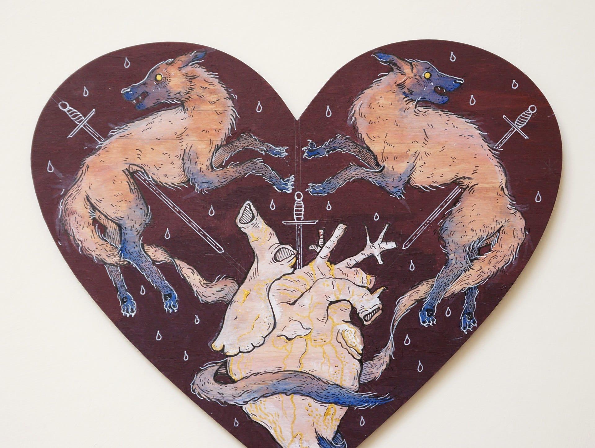 Champlain senior Amila Nuhodzic, is both an illustrator and now a 3D visual artist.  More at: ww.artstation.com/amila