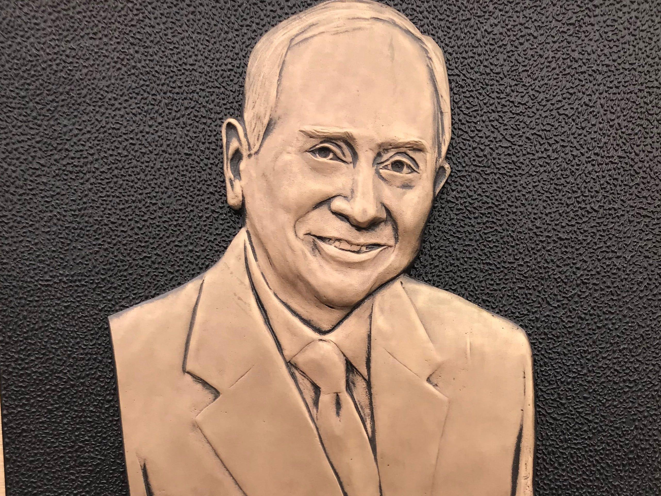 A hangar at Naval Air Station Kingsville was named after retired U.S. Navy Commander Everett Alvarez Jr. on Thursday, March 14, 2019.