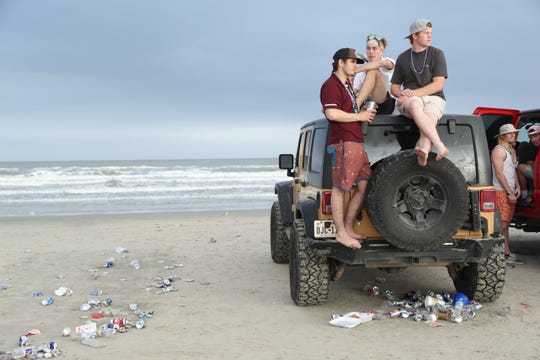 Images of spring break in Port Aransas, Thursday, March 14, 2019.