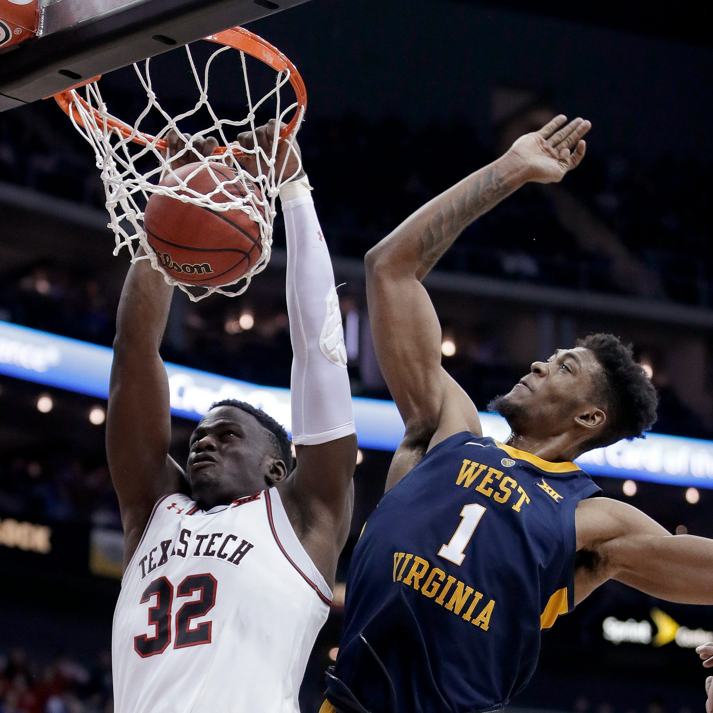 West Virginia upends No. 7 Texas Tech in Big 12 men's basketball tournament quarterfinals