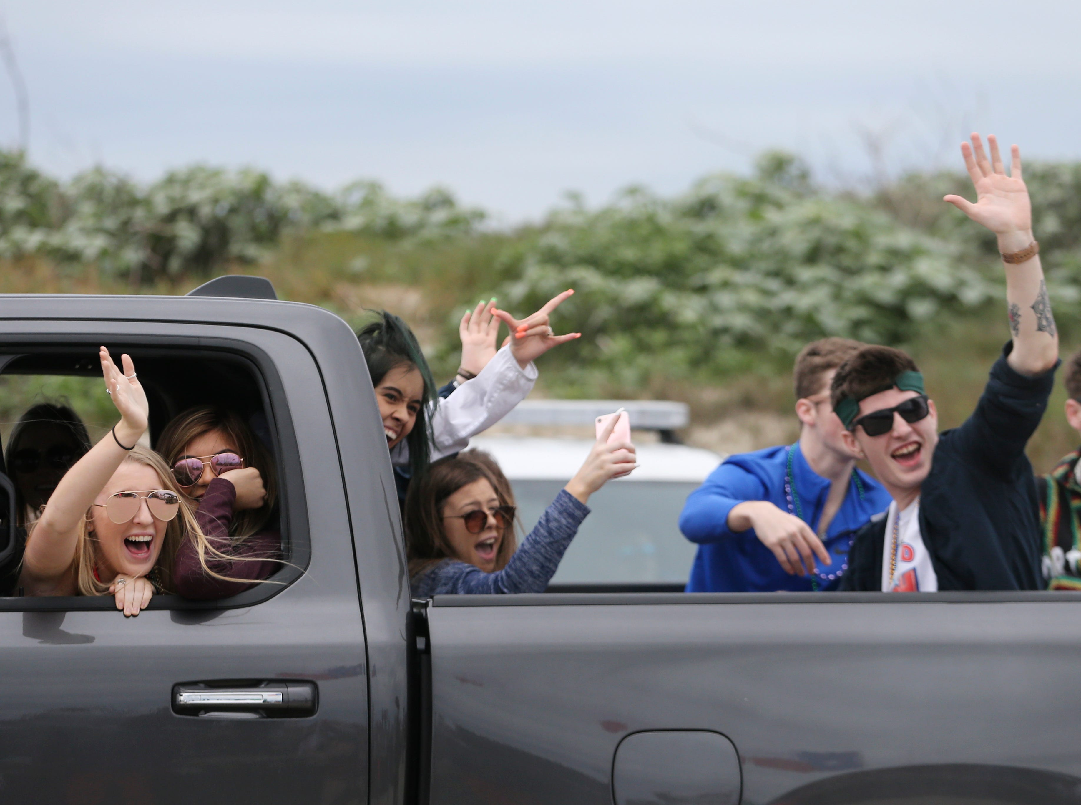 Images from day five of spring break, Friday, March 15, 2019.